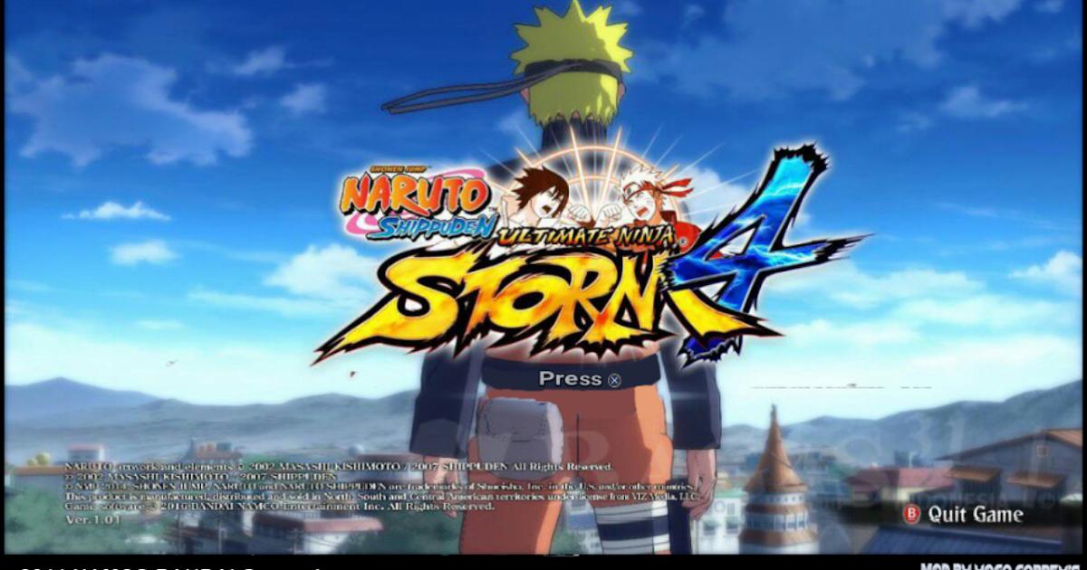Naruto Shippuden Ultimate Ninja Storm 4 Mod Textures ...