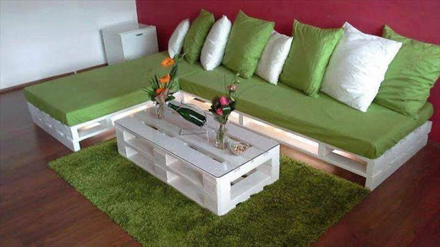 Design Sofa Kayu Pallet