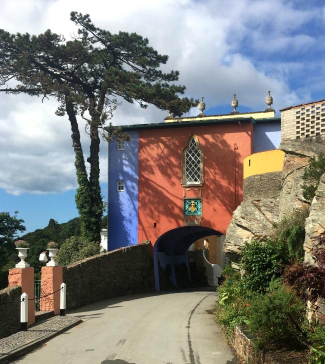 Portmeirion-Wales-bright-orange-arch