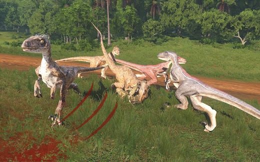 Arma3へ恐竜のラプター追加アドオン