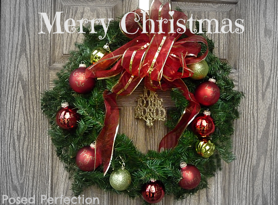 posed perfection names of jesus christmas wreath - Jesus Christmas Decorations
