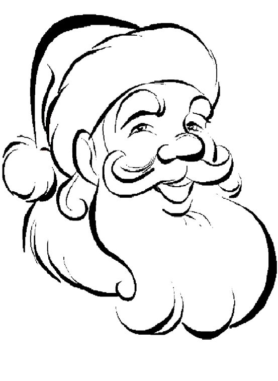Christmas Santa Claus Drawing