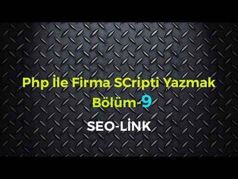 php ile seo link yapımı