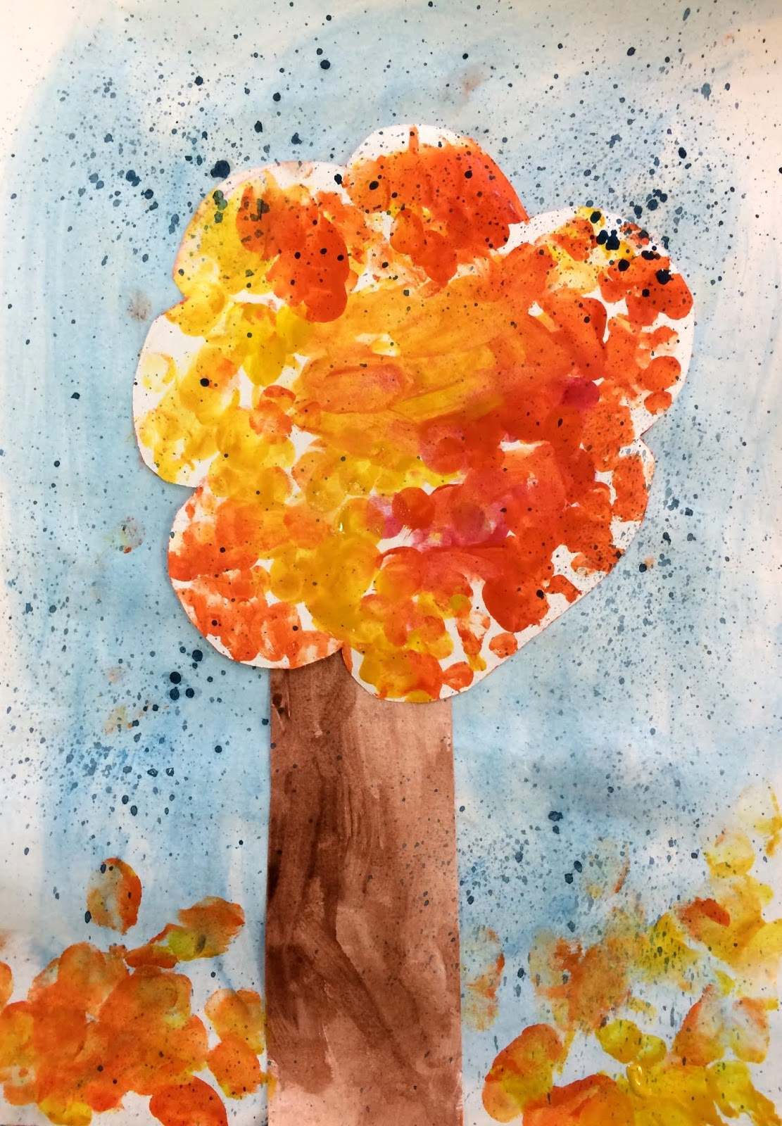 Copacul toamnei