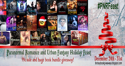 Celebrate Christmas with the #PNRFeast giveaway and 99c sale!