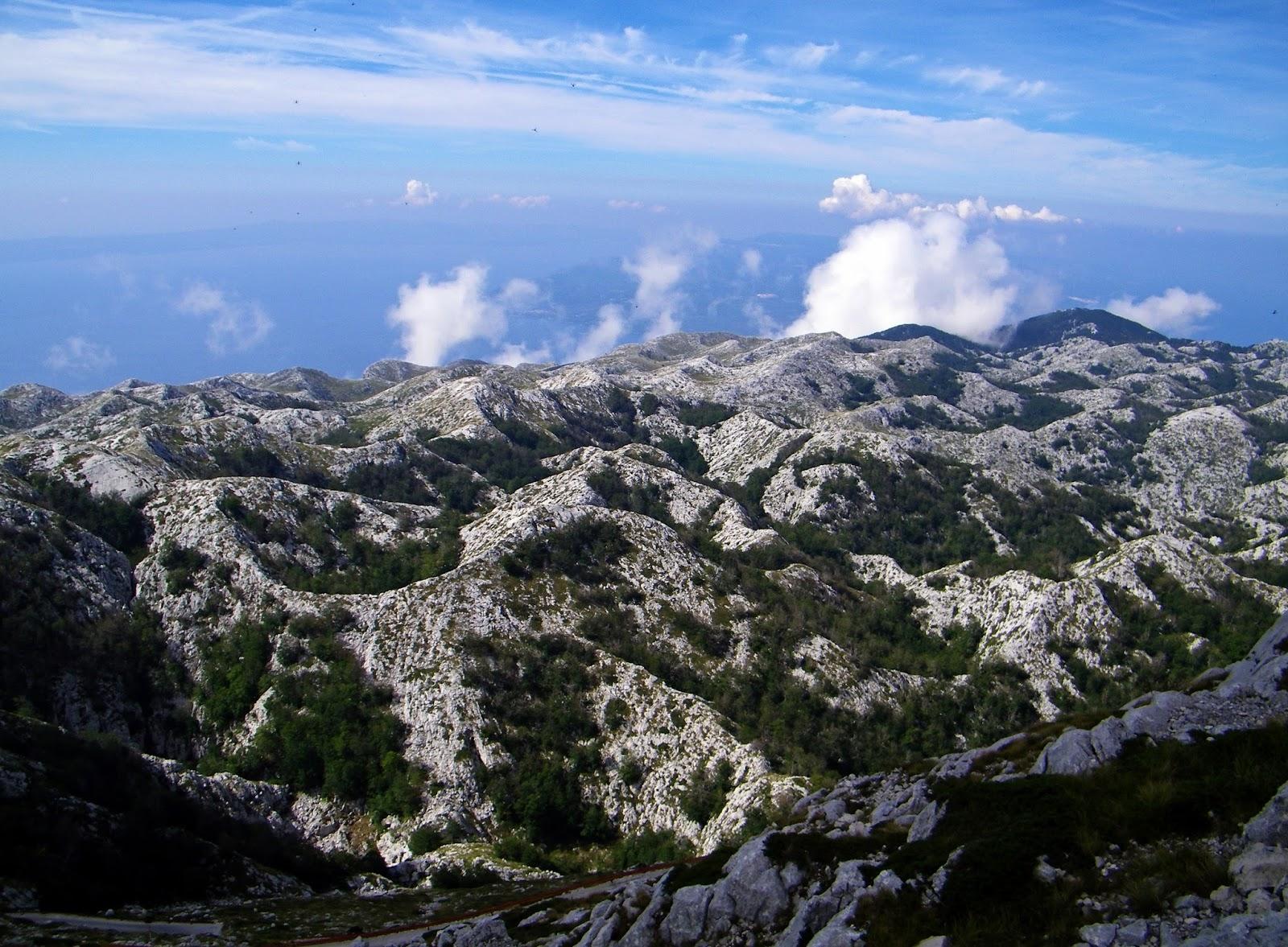 Góry Dynarskie - Masyw Biokovo