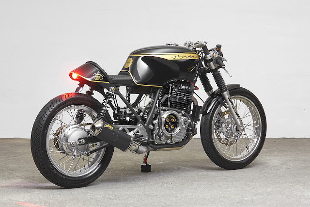 Honda GB500 By 271 Design Hell Kustom