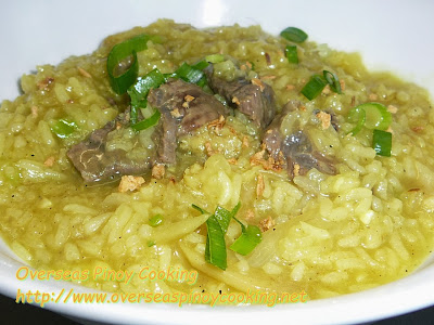 Beef Cheeks and Tripe Lugaw