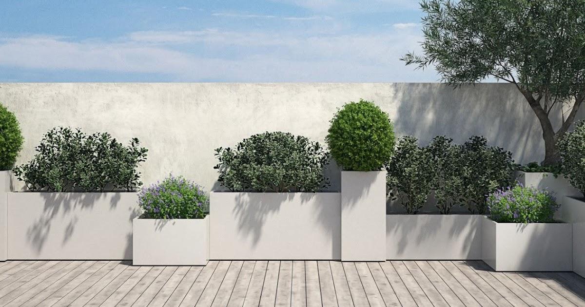 Progettare spazi verdi arredamento terrazzo fioriere in for Progettare spazi verdi