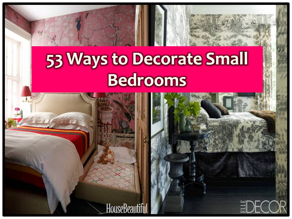 We do not need a big room to have a beautiful one. Even a small space, we can make a beautiful bedroom. What is important is that we know how to design or to decorate our space. If you are looking for ideas on how to design a small bedroom, here are some to consider or to inspire you on your next makeover.