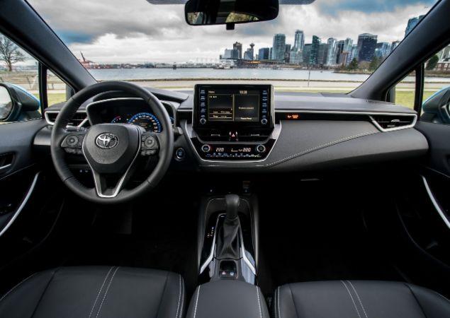 Novo Toyota Corolla: interior revelado - Brasil