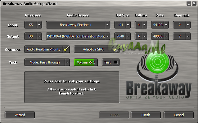 Breakaway Audio Enhancer terbaru
