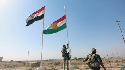 Kirkuk အနီး အေရးပါတဲ့ေနရာေတြကို အီရတ္တပ္ေတြ သိမ္းယူ