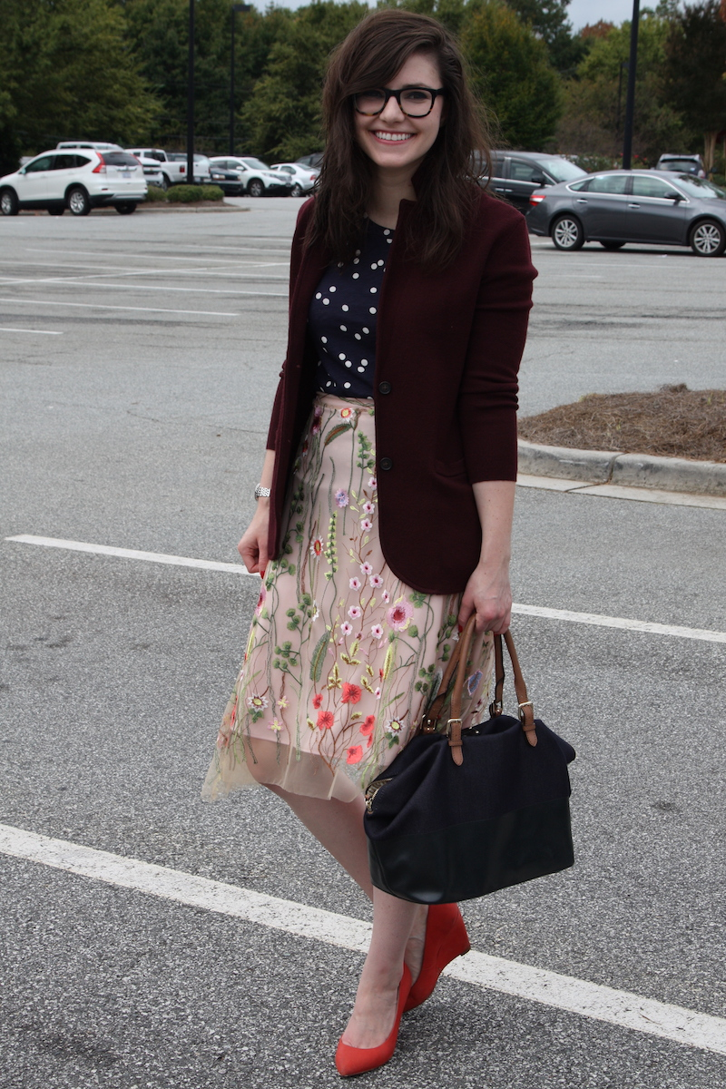 2017, fall, OOTD, Kate Spade, J.Crew, Anthropologie, Pour La Victoire