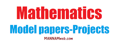 FA 2 MATHS Model papers ,  Projects