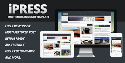 iPRESS Blogger Template