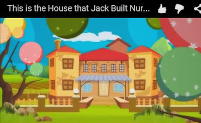 cartoon-like representation of spanish-style building surrounded by fields and trees