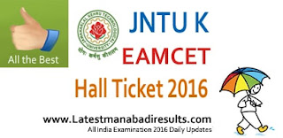AP Eamcet Hall Ticket 2016 with Photo,AP EAMCET 2016 Admit Card, Duplicate Hall Ticket for AP Eamcet, JNTUK Eamcet Hall Ticket 2016