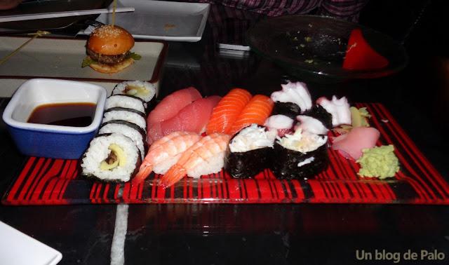 Octave Rooftop restaurante hotel marriott Bangkok sushi