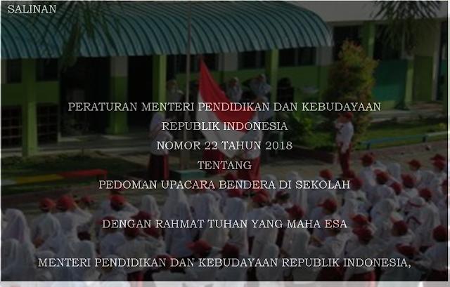Pedoman Upacara Bendera di Sekolah