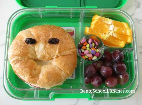Croissant bento lunch