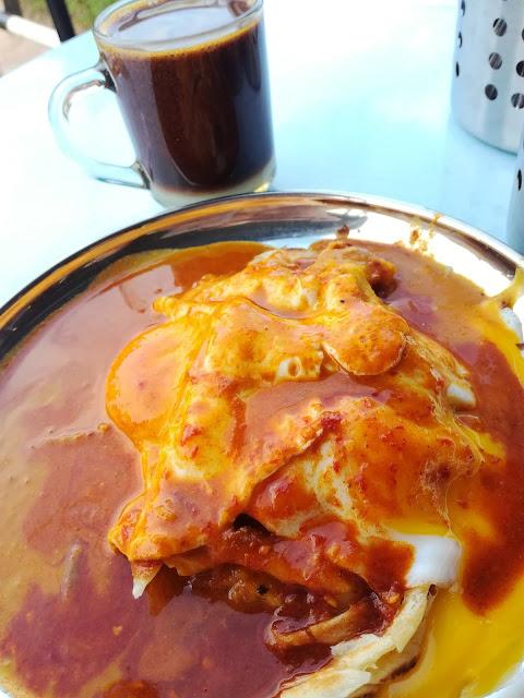 Bersarapan Dan Makan Tengahari Di Nasi kandar Nawab Shah