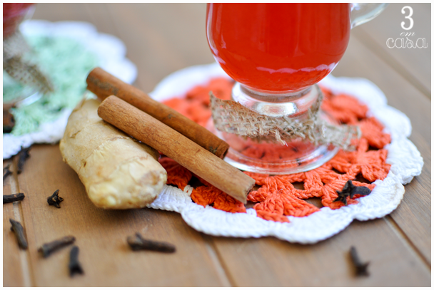 quentão morango receita