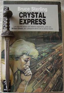 Portada del libro Crystal Express, de Bruce Sterling