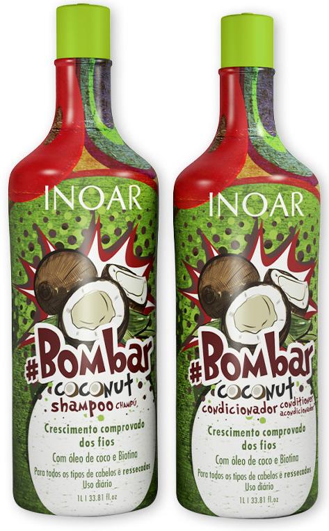 da8802016 Resenha: Inoar Bombar Coconut Shampoo + Condicionador | Polvilhos