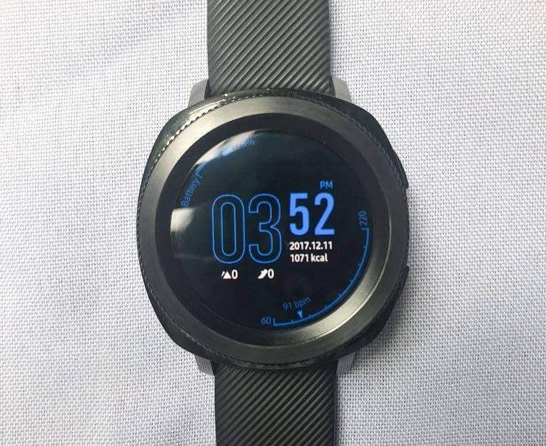 Samsung Gear Sport Front