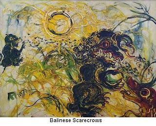 Balinese Scarecrows