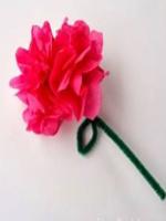 http://manualidadesparaninos.biz/flor-con-papel-de-seda/
