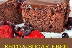 Keto & Low Carb Chocolates Zucchini Cake