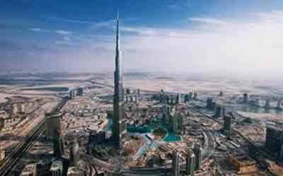 Gambar Burj Dubai gedung tertinggi di Uni Emirat Arab