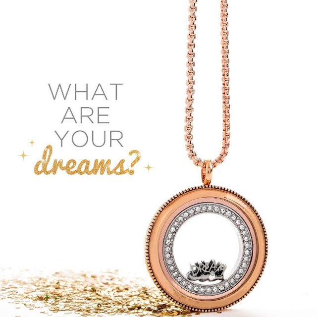 Create an Origami Owl Vision Board Locket for yourself or someone you love at StoriedCharms.com