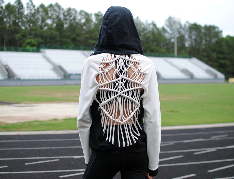 Black & White Collection: Knot It Hoodie