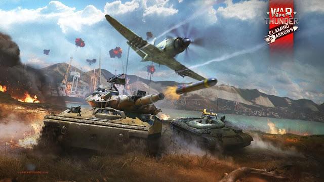 """""""War Thunder"""" Game hành động mô phỏng free 2016"""