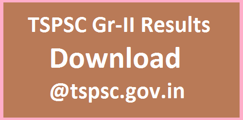 TSPSC Group II Results out Download @tspsc.gov.in  Telangana Public Service Commission as conducted Group II Recruitment Exam for various posts in Telangana Public Service Commission anounced recruitment exam resutls tspsc-group-ii-results-out-download