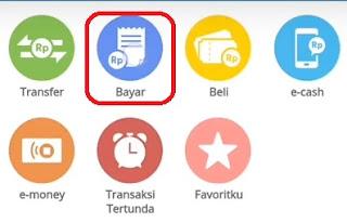 Bayar asuransi ikanas stand di Mandiri online