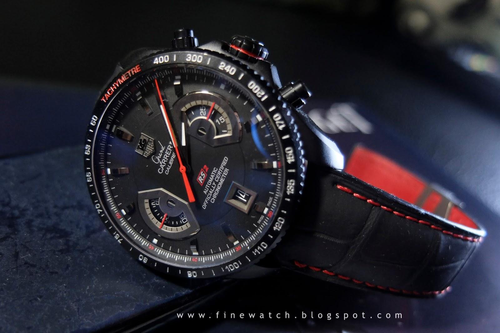 Часы наручные мужские tag heuer grand carrera calibre 17 rs.