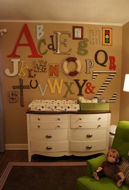 quarto de bebê letras