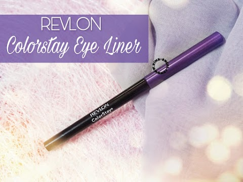 Review Revlon Colorstay Eye Liner - Black Violet