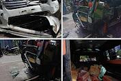 Tiga Unit Mobil Terlibat Kecelakaan di Tancung