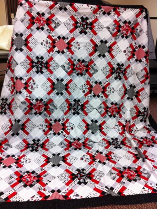 Trellis Quilt - Free Pattern