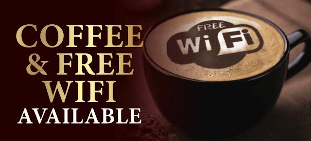 10 Contoh Desain Spanduk Warung Kopi dengan Fasilitas Wifi