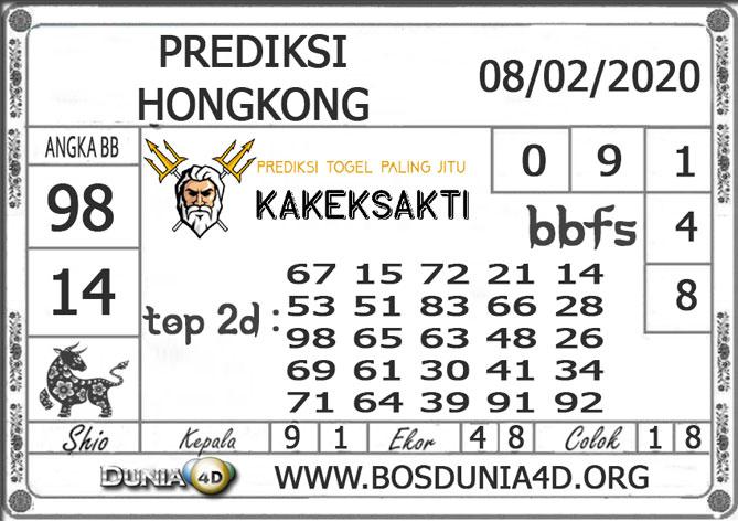 Prediksi Togel HONGKONG DUNIA4D 08  FEBRUARI 2020