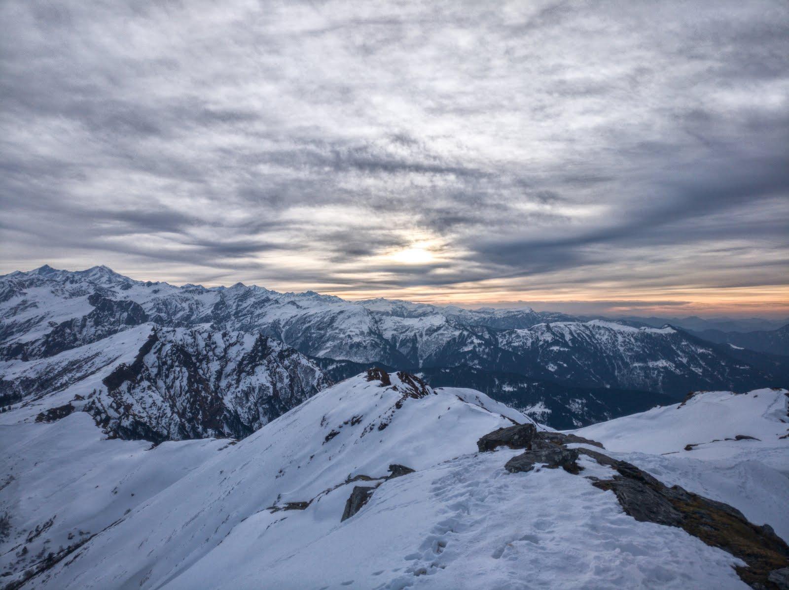 Skyscape from Kedarkantha Trek, Uttarakhand