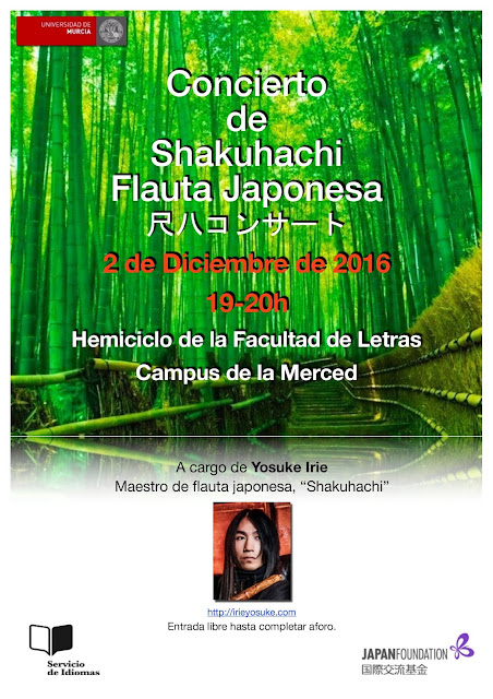 Concierto de Shakuhachi.