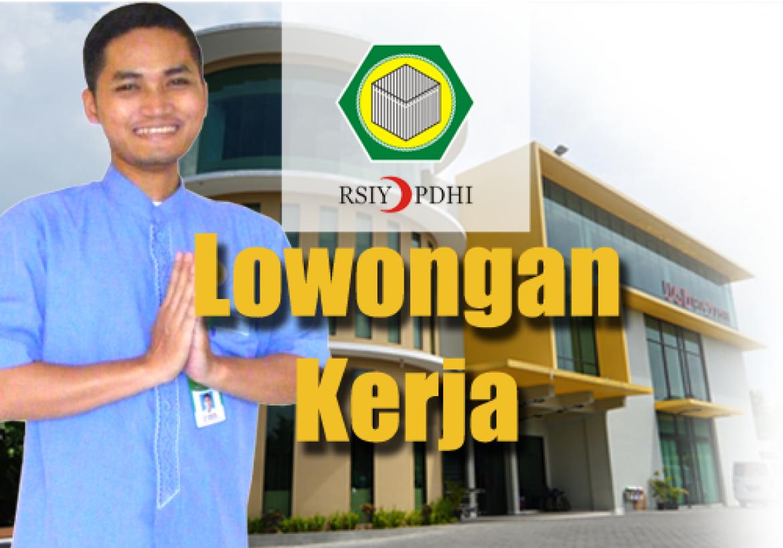 Info Lowongan Kerja Di Rumah Sakit Islam Yogyakarta Rsiy Pdhi Muda Mudi Condrowangsan