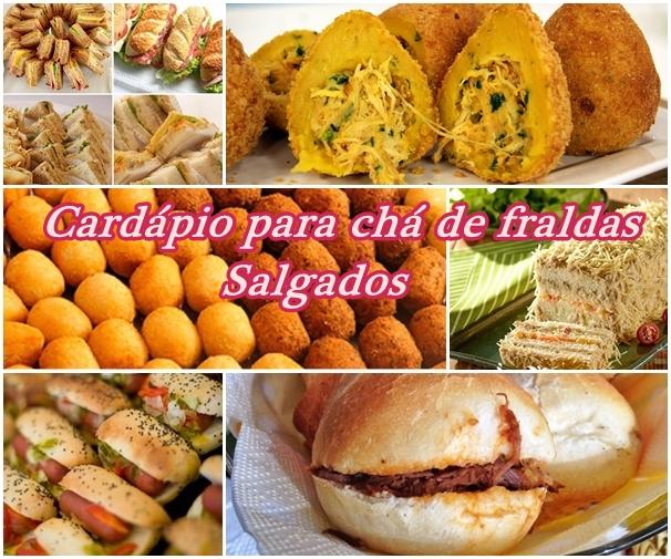 Famosos Receitas para chá de bebê ~ Claudia Barbosa Blog LR25